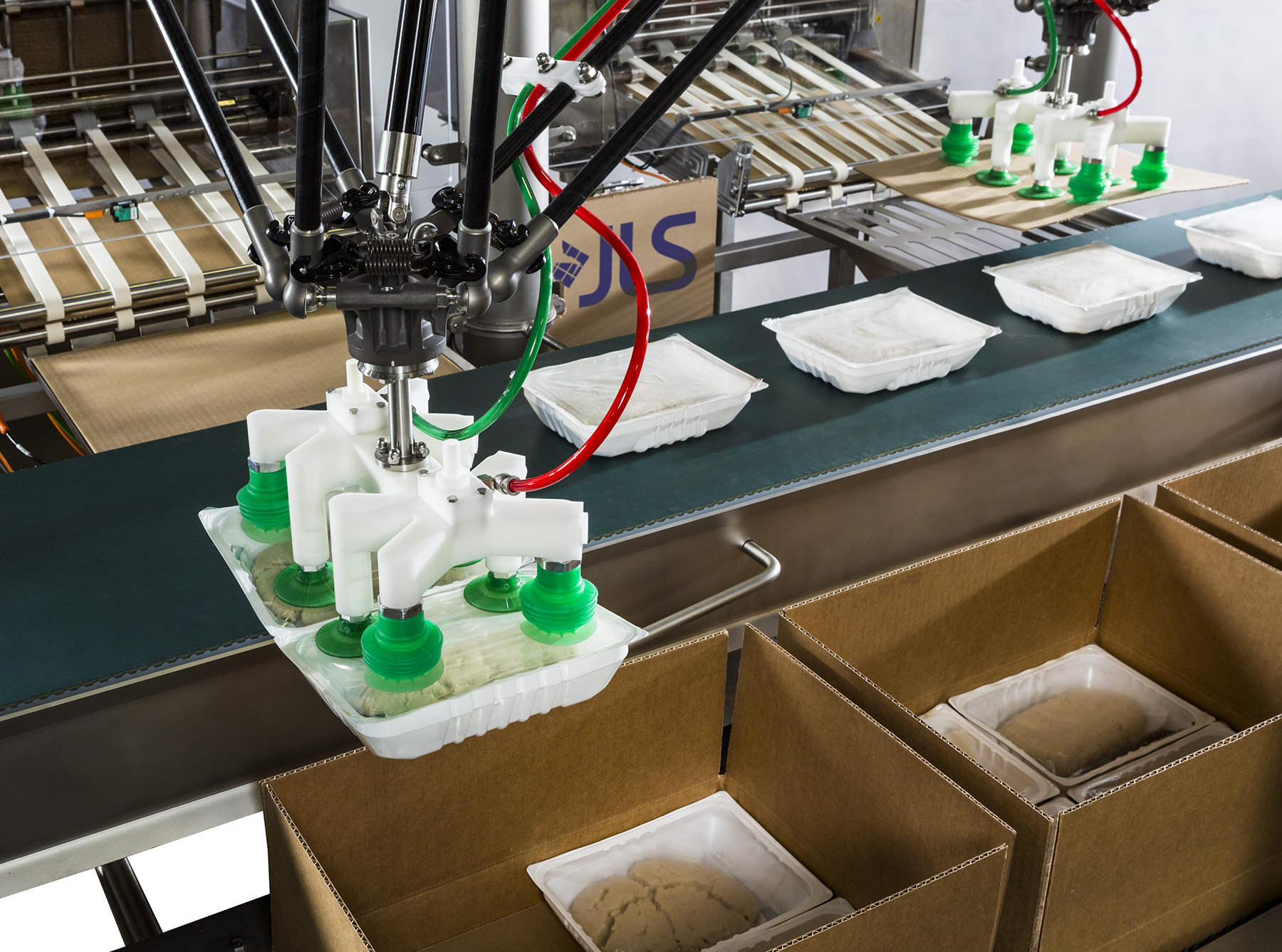 Accurate Robotic Case Packers